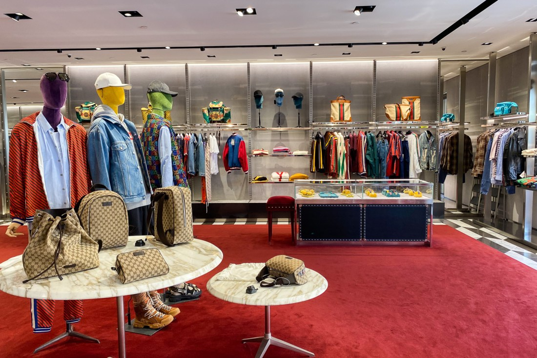 Men's Clothing at the Gucci Outlet