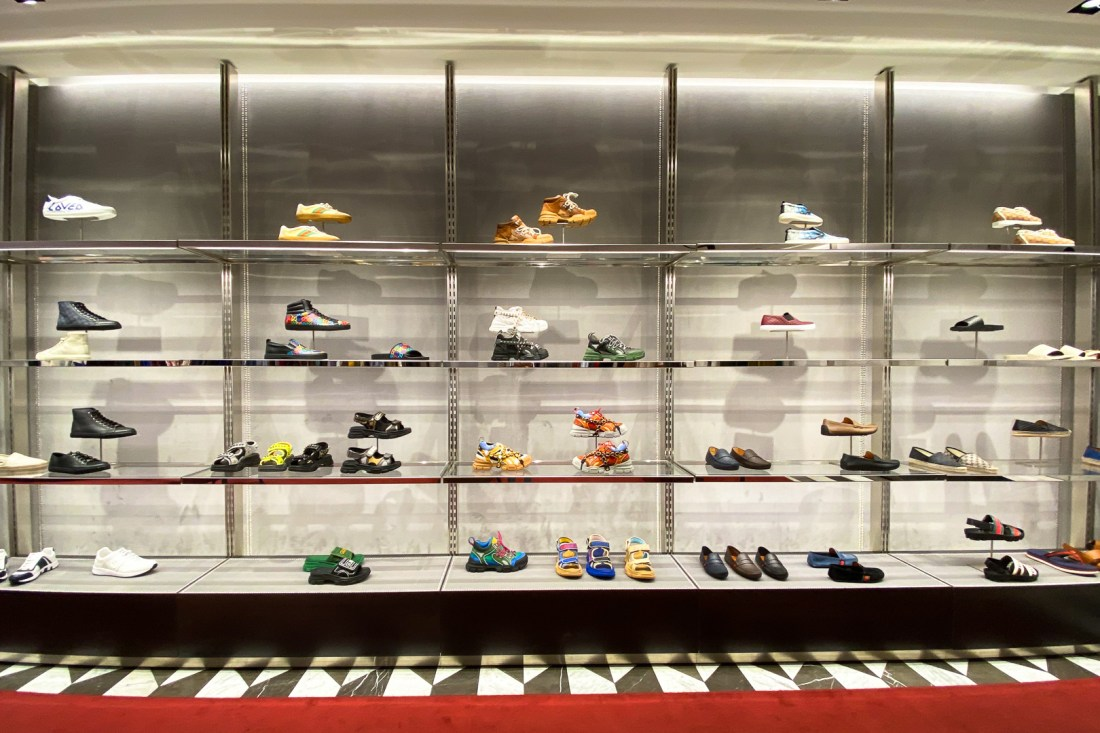 Men's Shoes at the Gucci Outlet