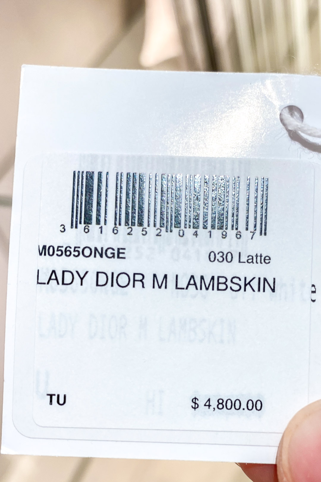 Christian Dior Hawaii Pricing for Medium Lady Dior Bag