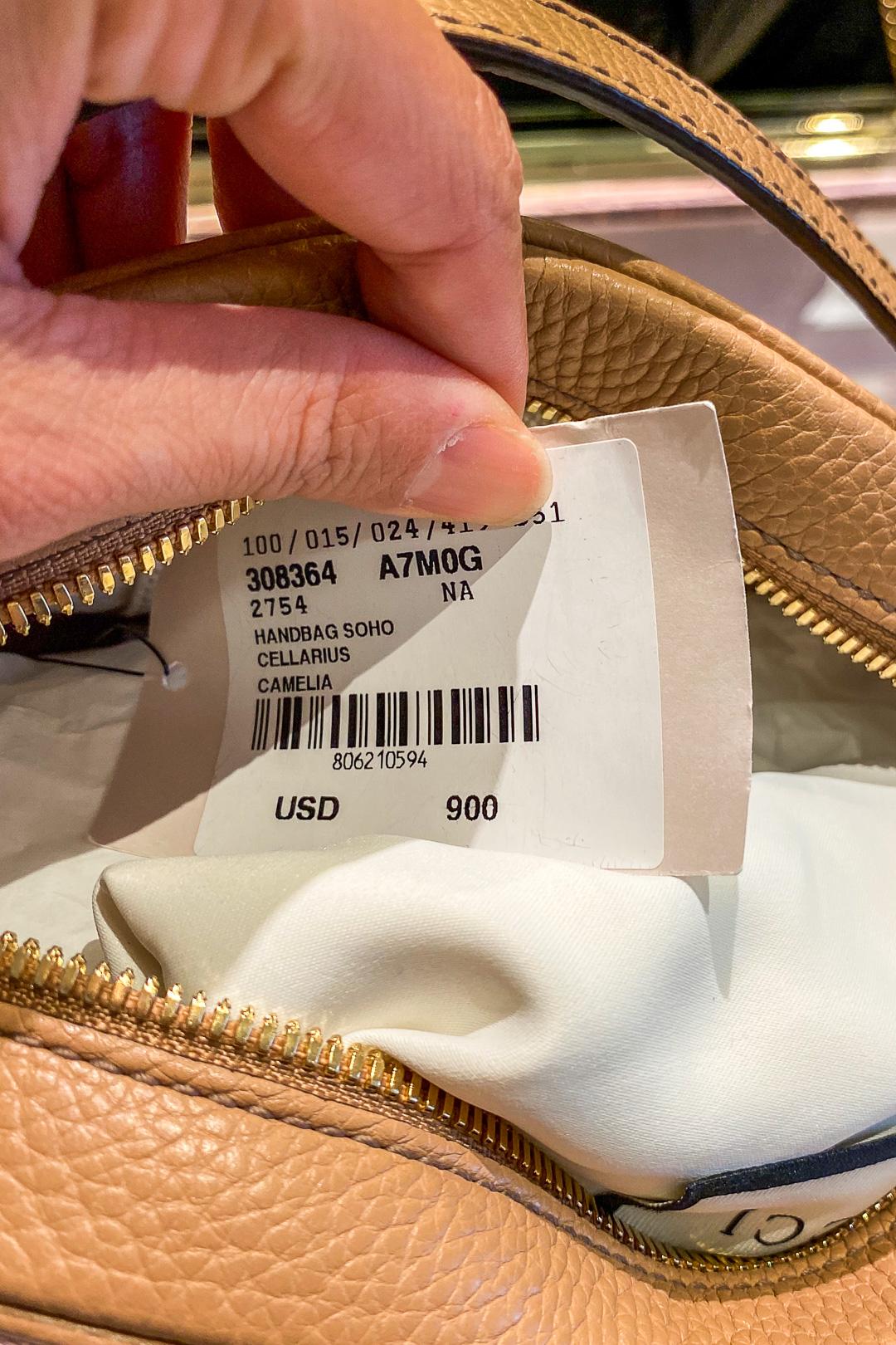 Gucci Hawaii Waikiki Soho Small Leather Disco Bag Price