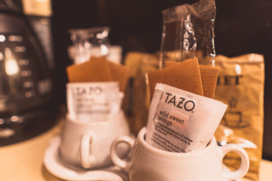 Cups and Tea Bags