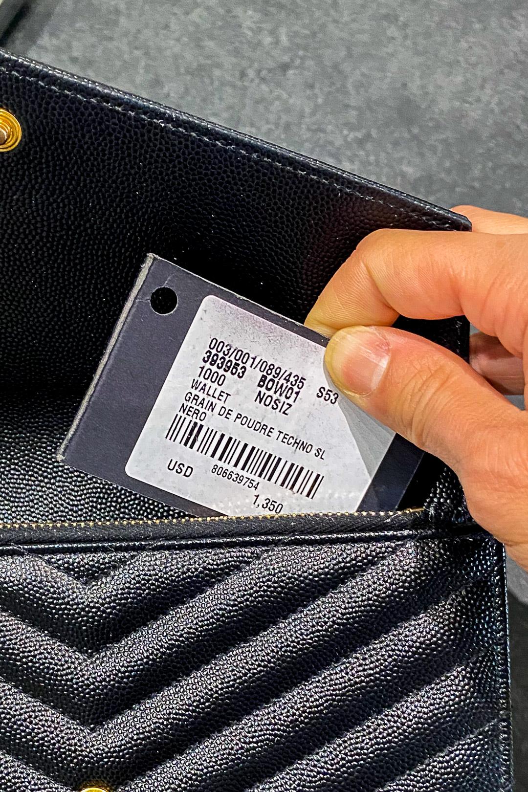 YSL Envelope Chain Wallet Price