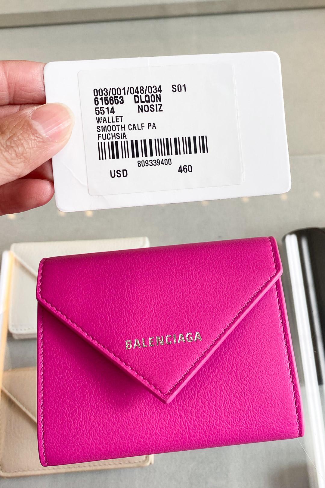 Balenciaga Hawaii Waikiki Women's Wallet Price
