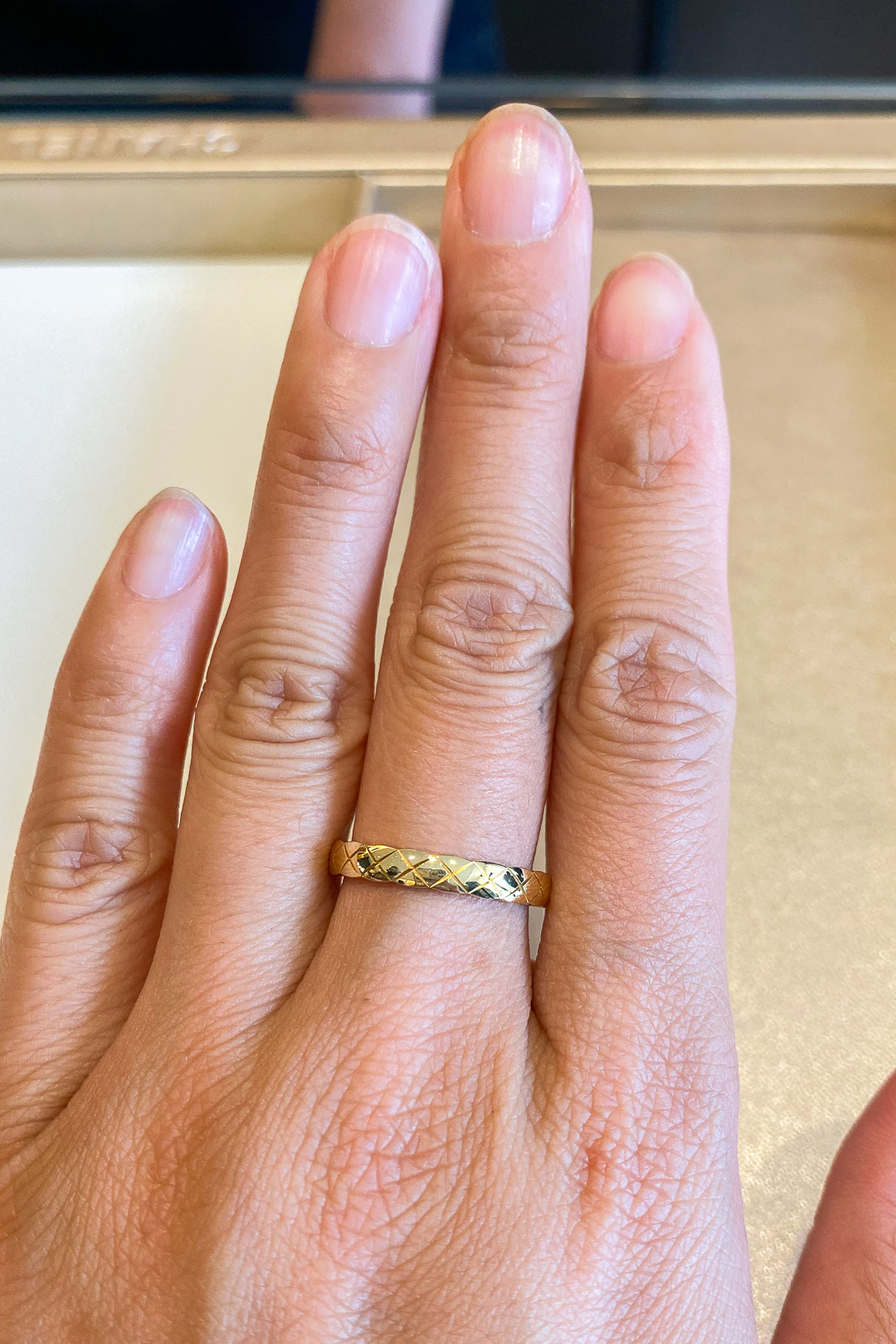 Chanel Coco Crush Ring in Yellow Gold