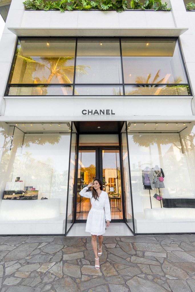 Chanel Hawaii Waikiki Store on Luxury Row