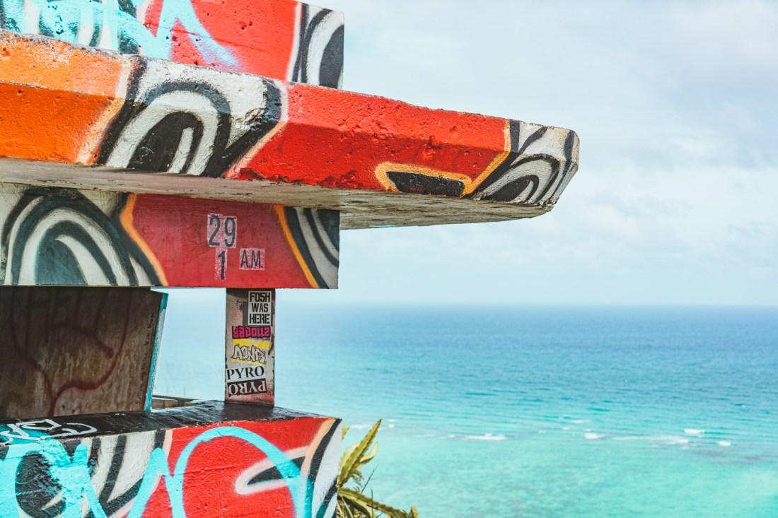 Graffiti Art of First Pillbox