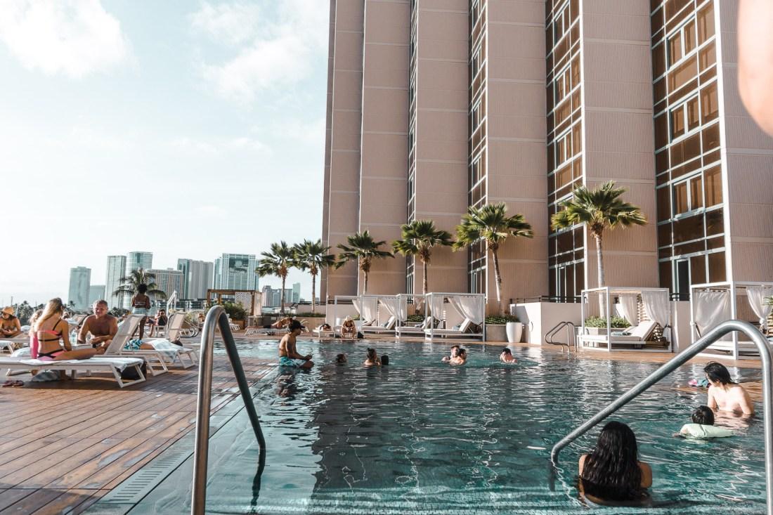Prince Waikiki Main Pool