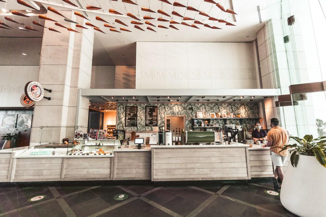 Prince Waikiki Hotel Honolulu Coffee