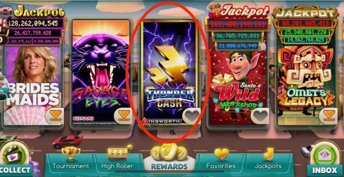 Thunder Cash Game on Mobile App