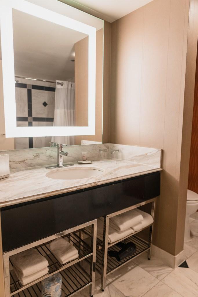 MGM Grand King Room Bathroom
