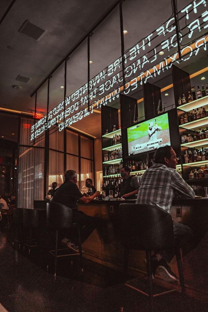 Spago's Bar at the Bellagio Hotel