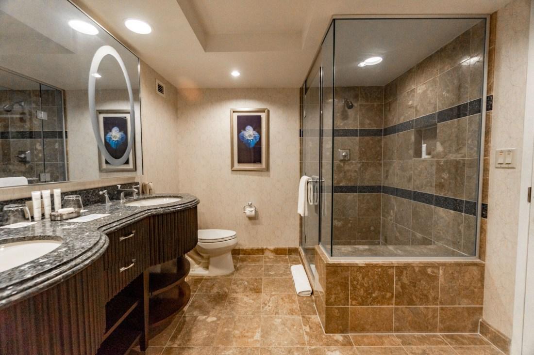 Bellagio Spa Tower Bathroom