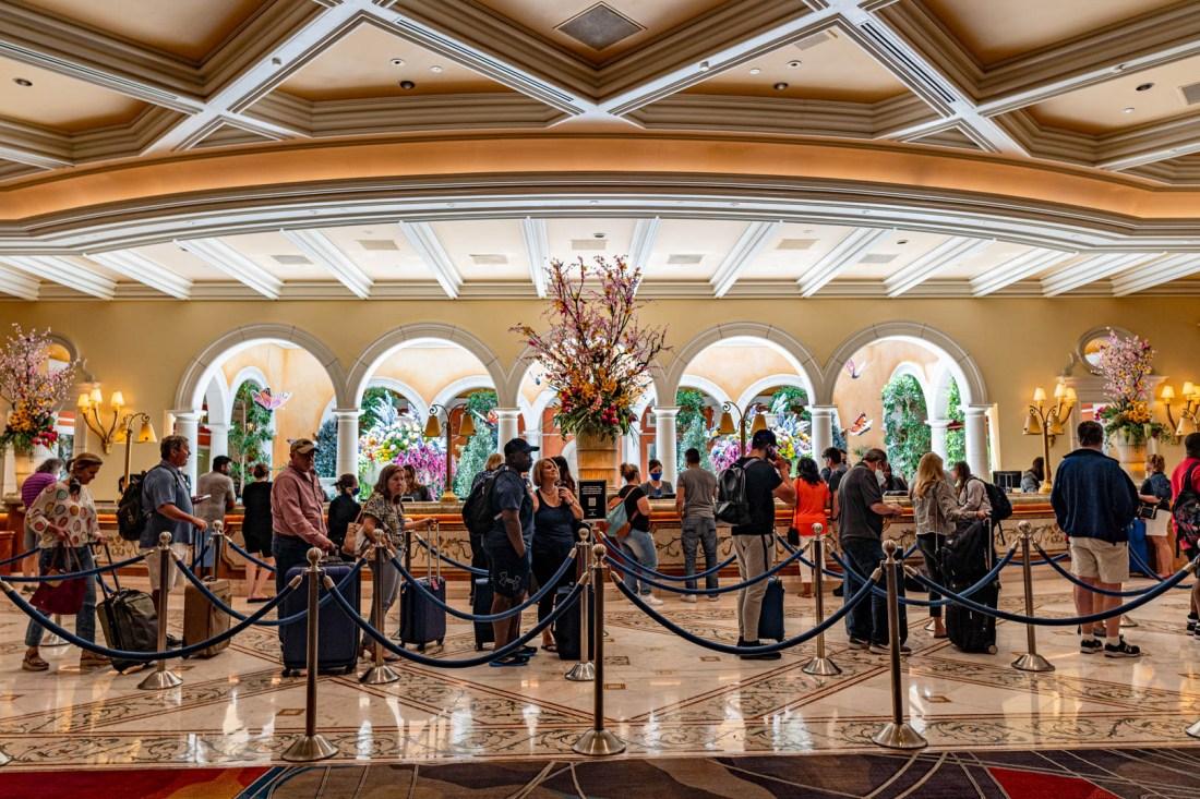 Bellagio Lobby