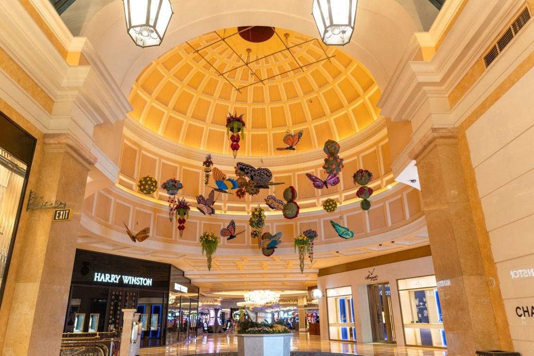 Bellagio Luxury Shopping Corridor