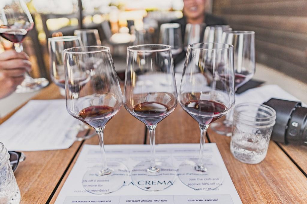 La Crema BOGO Free Wine Tasting with Visa