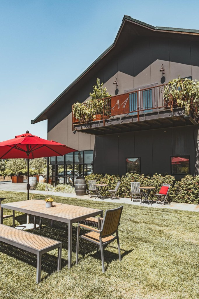 Mauritson Wines Outdoor Patio
