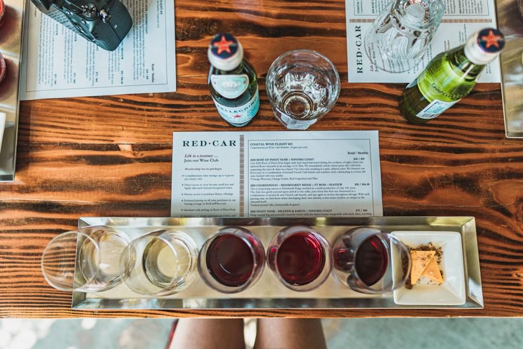 Red Car's BOGO with Visa Sonoma Wine Tasting