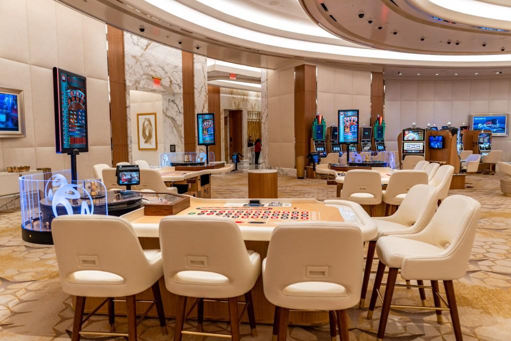 Crockfords' High Roller Room at Resorts World Las Vegas