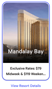 Mandalay Bay Exclusive Rates