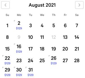 Bellagio Exclusive Rates August 2021
