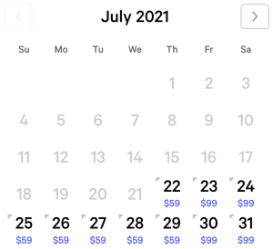 MGM Grand Exclusive Rates July 2021