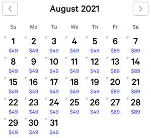 NY NY Exclusive Rates August 2021