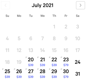 Luxor Exclusive Rates July 2021