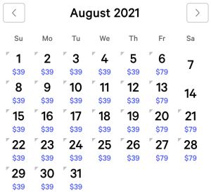 Luxor Exclusive Rates August 2021