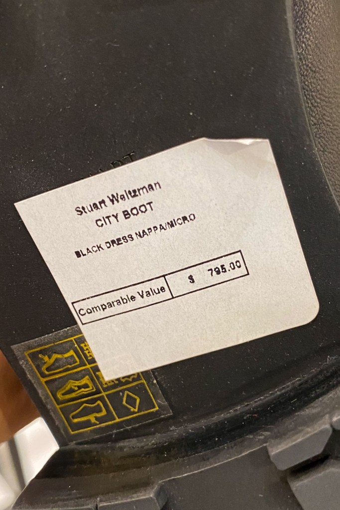 Stuart Weitzman Outlet City Boot Price