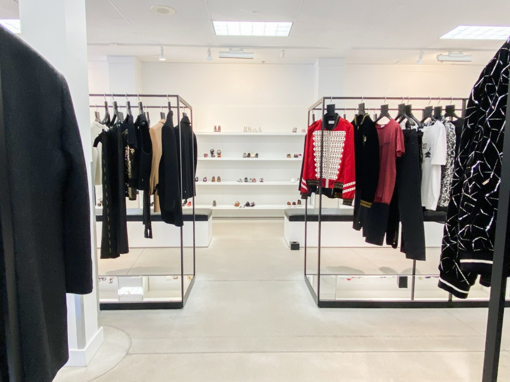 Saint Laurent Outlet Overall Store