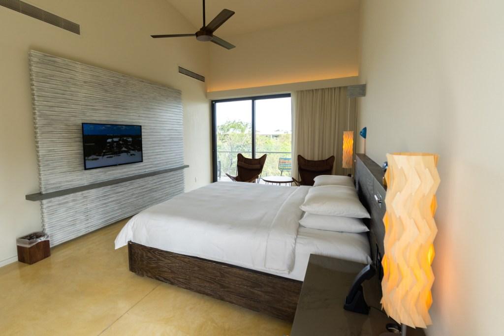 Andaz Mayakoba Lagoon View Suite Bedroom