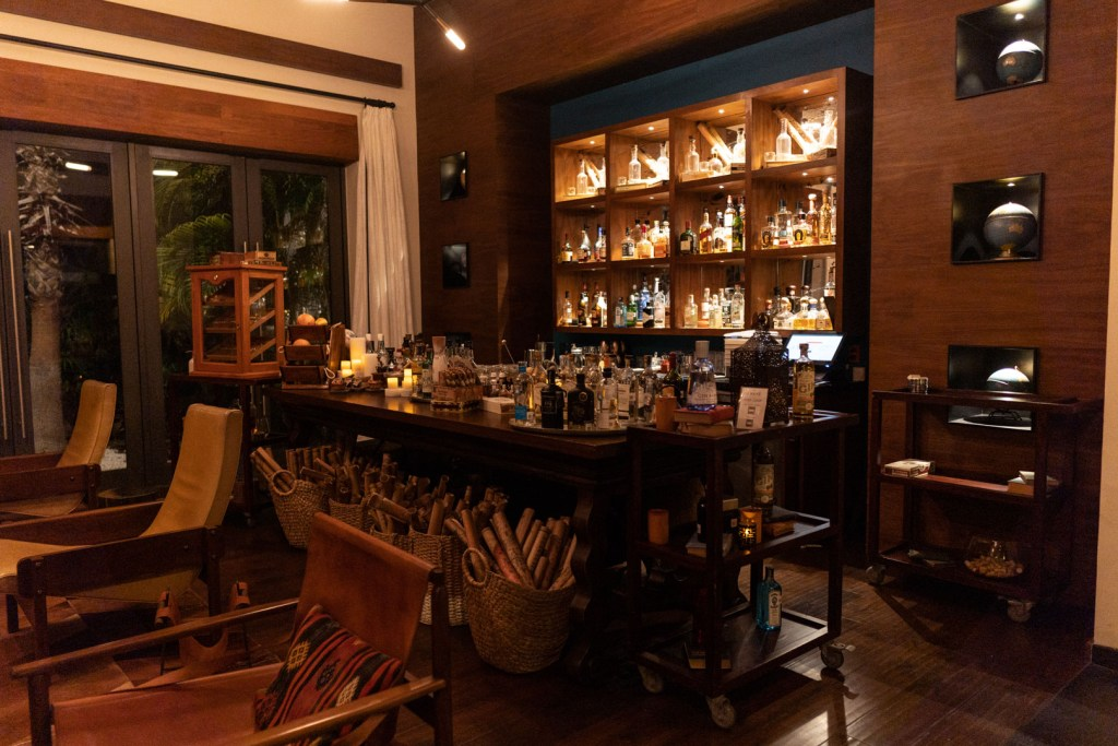 Casa Amate Bar Area