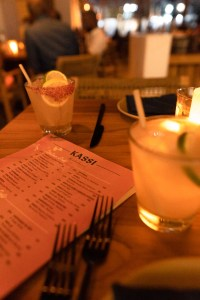 Kassi Menu and Kassi Cocktails