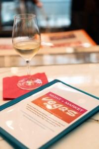 Night + Market Las Vegas Menu and Complimentary Wine
