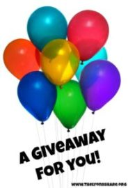 a giveaway for you