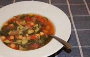 chickpea kale soup