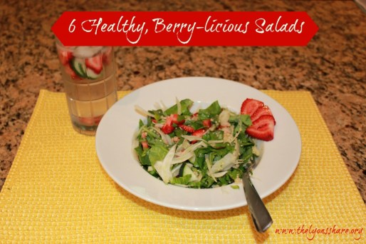 lyonsshare healthy berrylicious salads