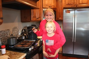 megan and shannon cooking helper
