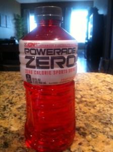 powerade zero