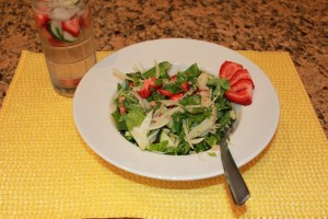 strawberry fennel quinoa salad