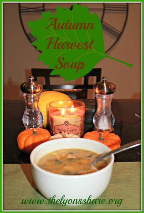 Autumn Harvest Soup from The Lyons Share