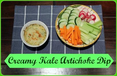 Creamy Kale Artichoke Dip The Lyons Share