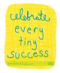 celebrate success - blog 9.4.13