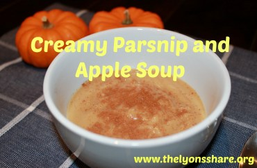 Creamy parsnip and apple soup2 The Lyons' Share
