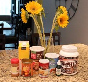 cinnamon roll protein pancake ingredients