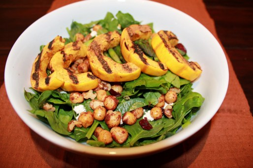 Cranberry Maple Delicata Salad 010