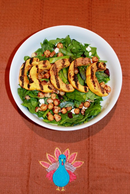 Cranberry Maple Delicata Salad 012