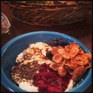 yogurt breakfast