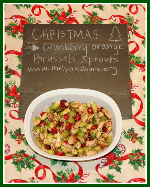 Christmas Brussels Sprouts The Lyons Share