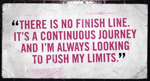 there is no finish line - blog 3.31.14